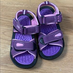 Other - Girls water shoes sandals purple and pink